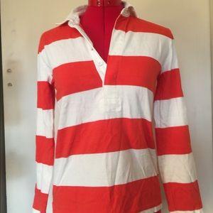 J. Crew Stripes Rugby Shirt